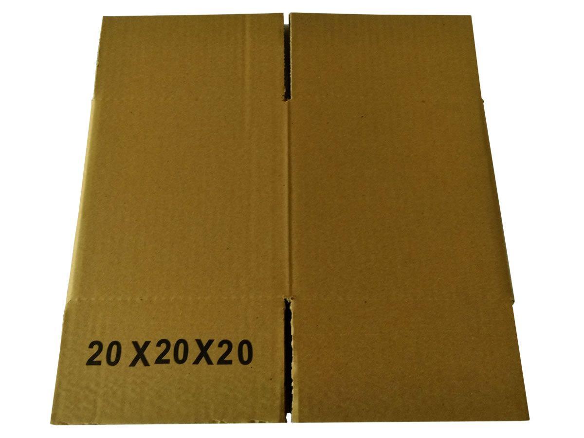 25 Caixas de papelão 20x20x20 cm para correio e transportes