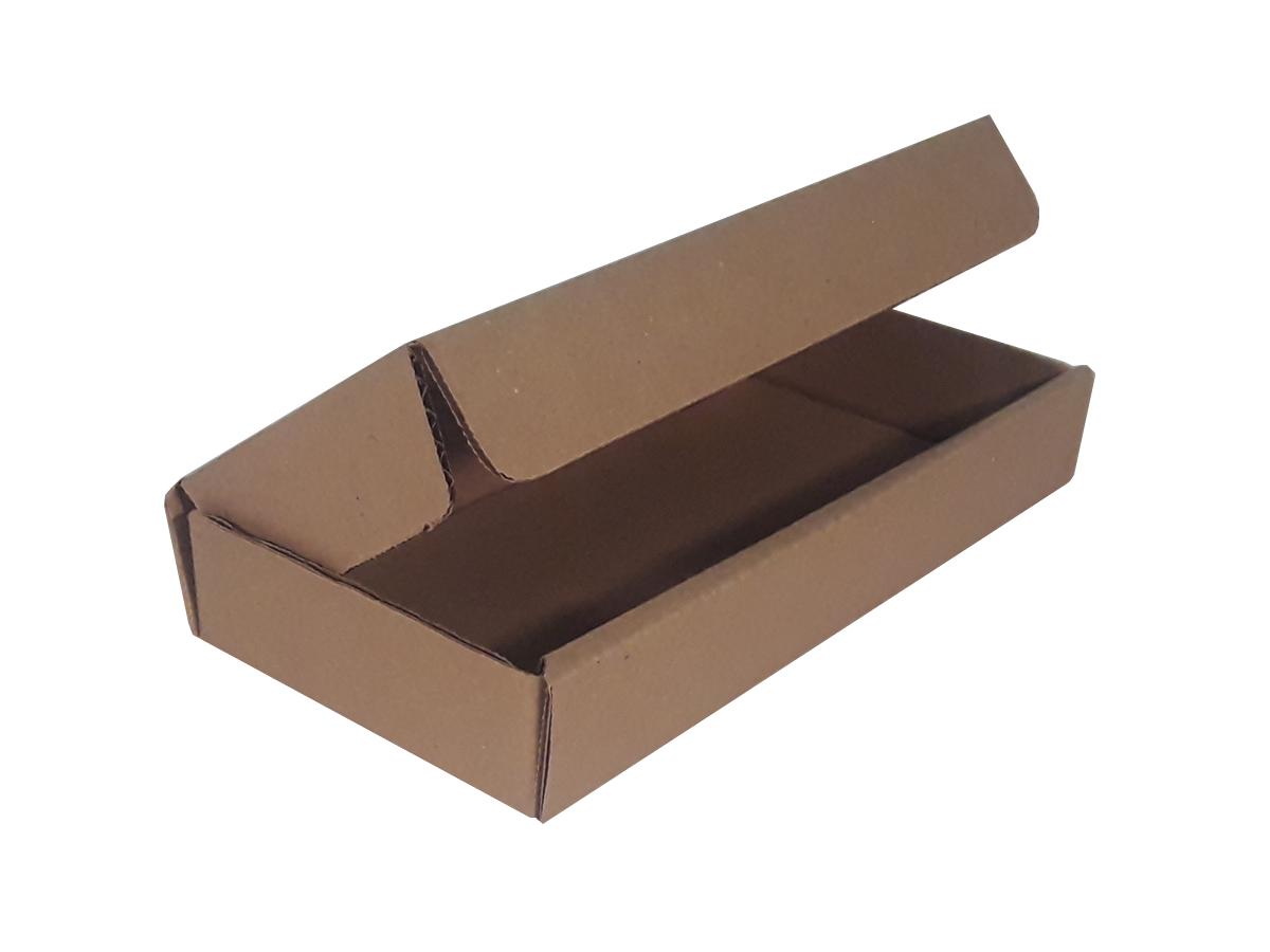 25 Caixas de Papelão 21,5x10,5x3,5 cm LINHA COMUM