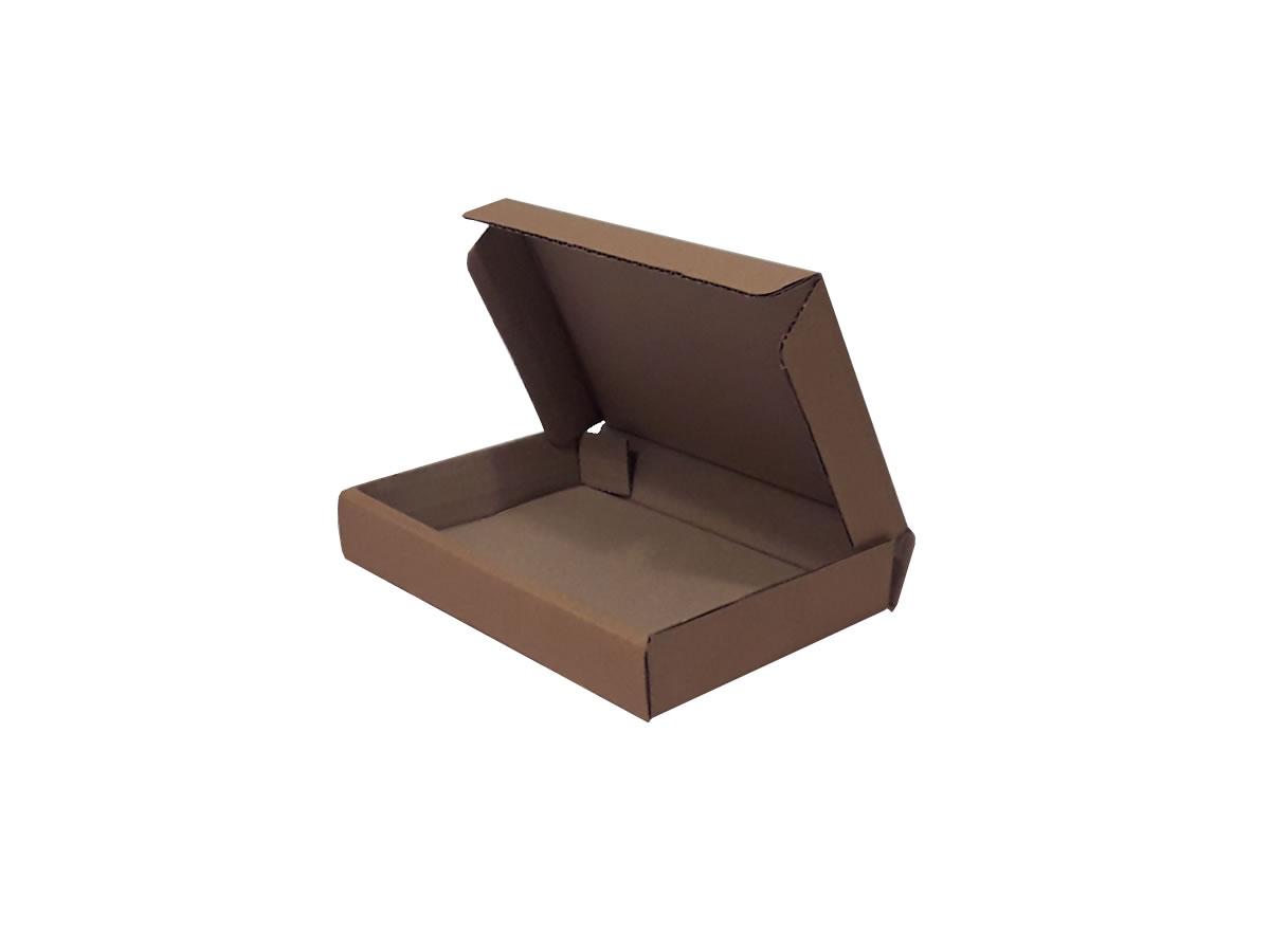 25 Caixas de Papelão 21x15x3 cm LINHA COMUM
