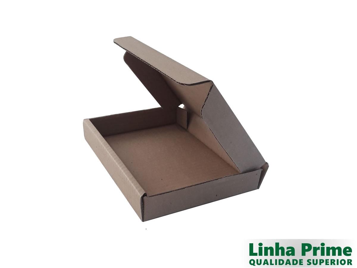 25 caixas de Papelão 21x15x3 cm LINHA PRIME