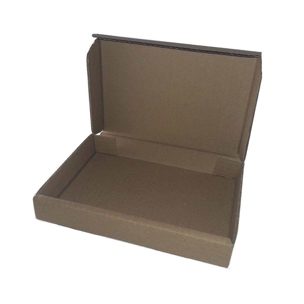 25 Caixas de Papelão 21x15x3 cm para correio e transportes