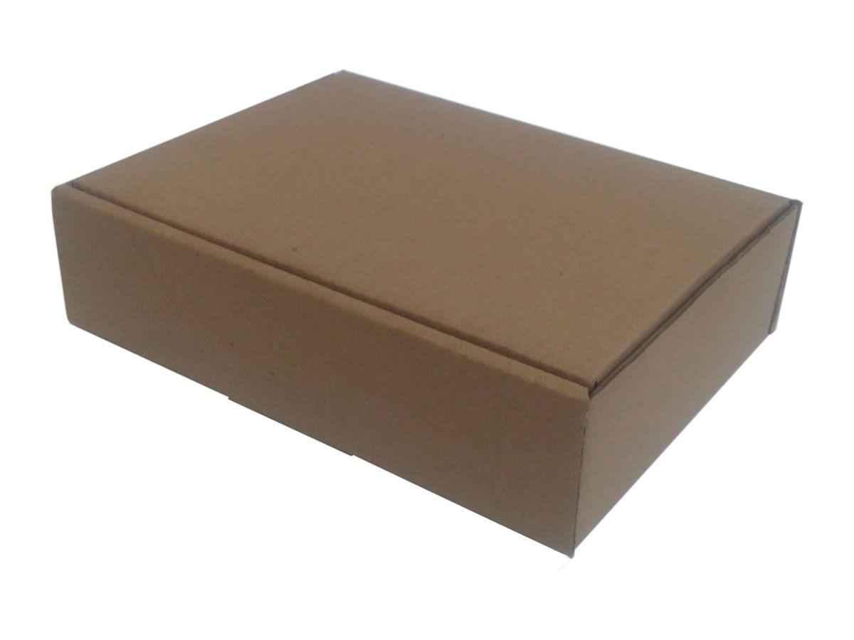 25 Caixas de Papelão 23x17x6 cm para correio e transportes