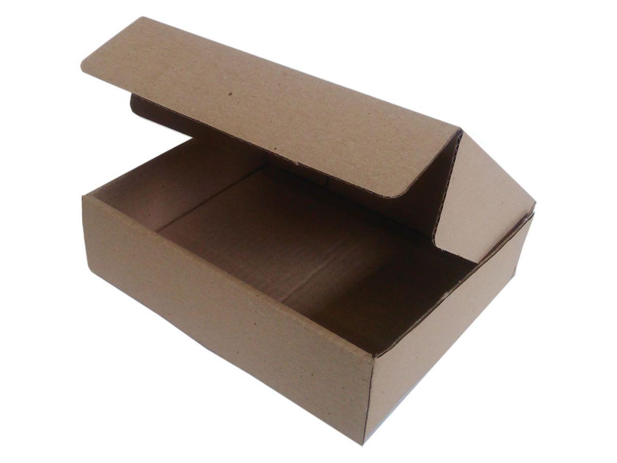 25 Caixas de Papelão 23x19x6 cm para correio e transportes
