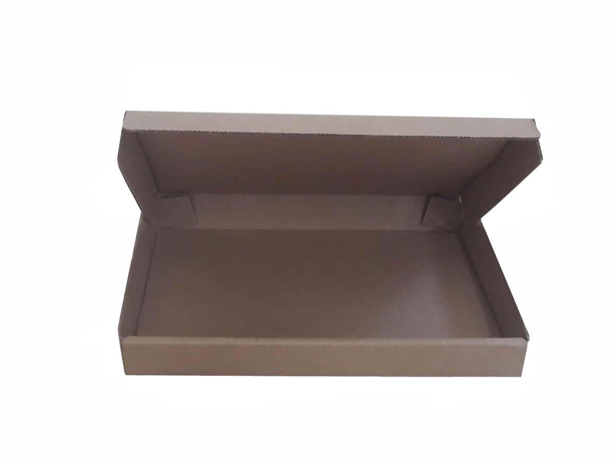 25 Caixas de Papelão 24x14x2,5 cm para correio e transportes