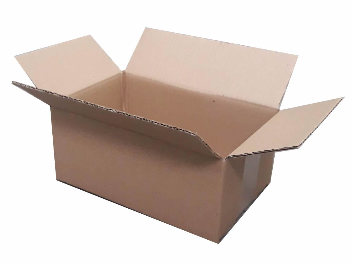 25 Caixas de papelão 24x15x10 cm para correio e transportes