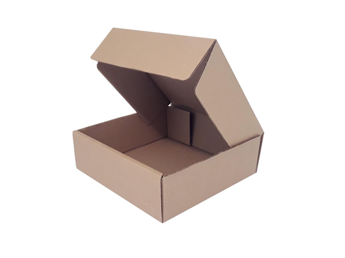 25 Caixas de Papelão 25x25x8 cm LINHA COMUM