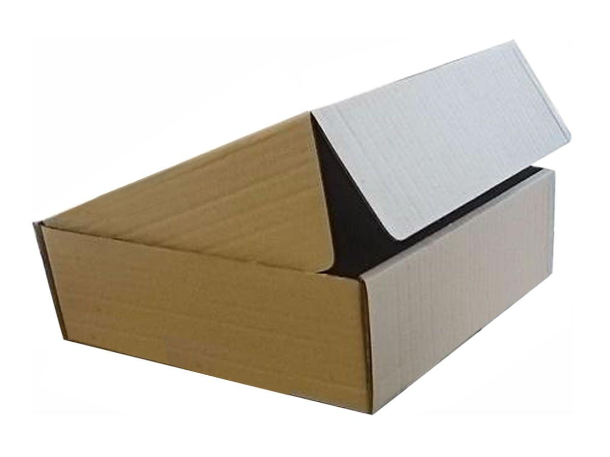 25 Caixas de Papelão 25x25x8 cm para correio e transportes
