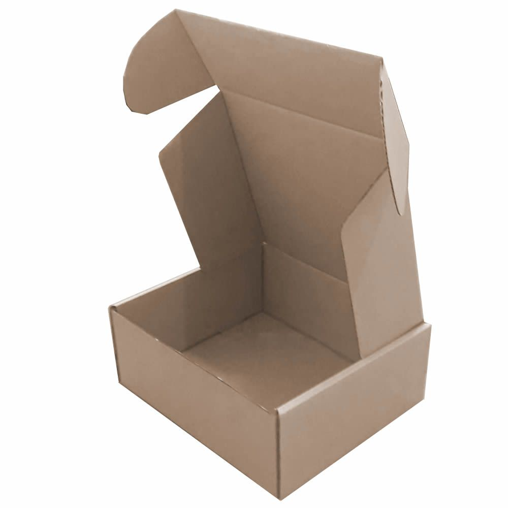 25 Caixas de papelão 26,5x23x10,5 cm para correio e transportes