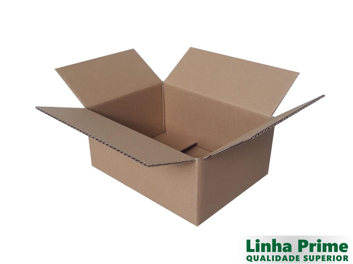25 caixas de papelão 28x21x12 cm LINHA PRIME