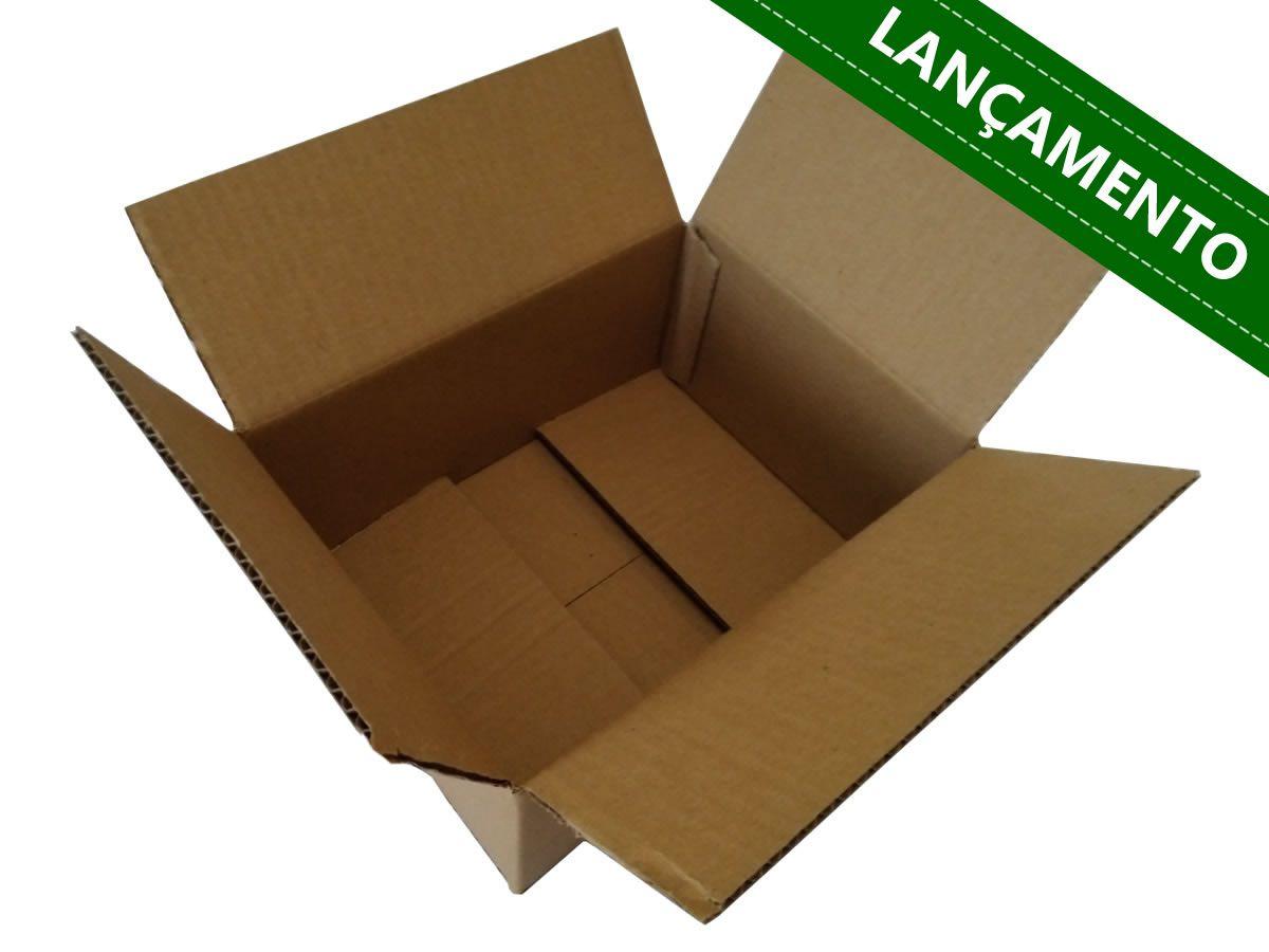 25 Caixas de Papelão 28x21x12 cm   LINHA COMUM