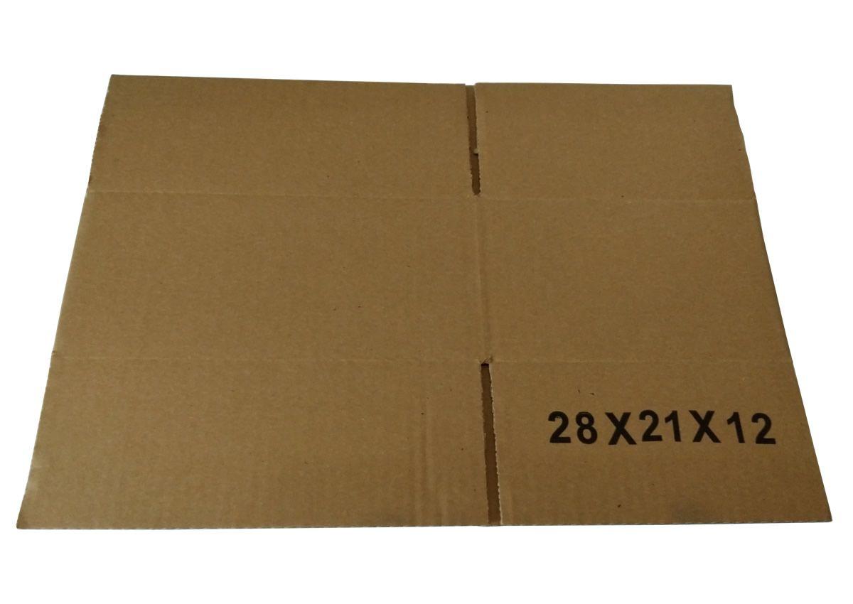 25 Caixas de Papelão 28x21x12 cm para correio e transportes