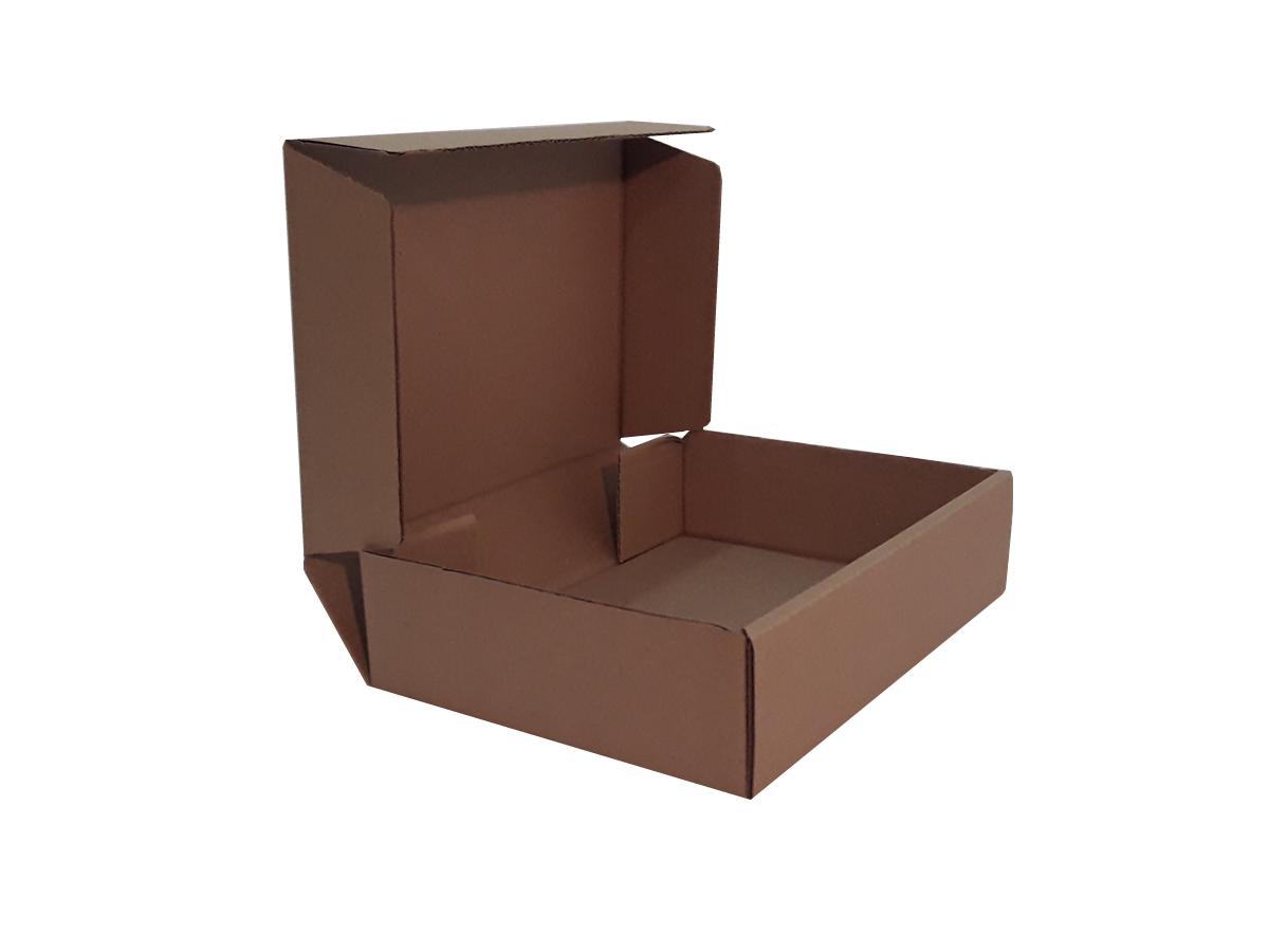 25 Caixas de papelão 28x21x7 cm LINHA COMUM