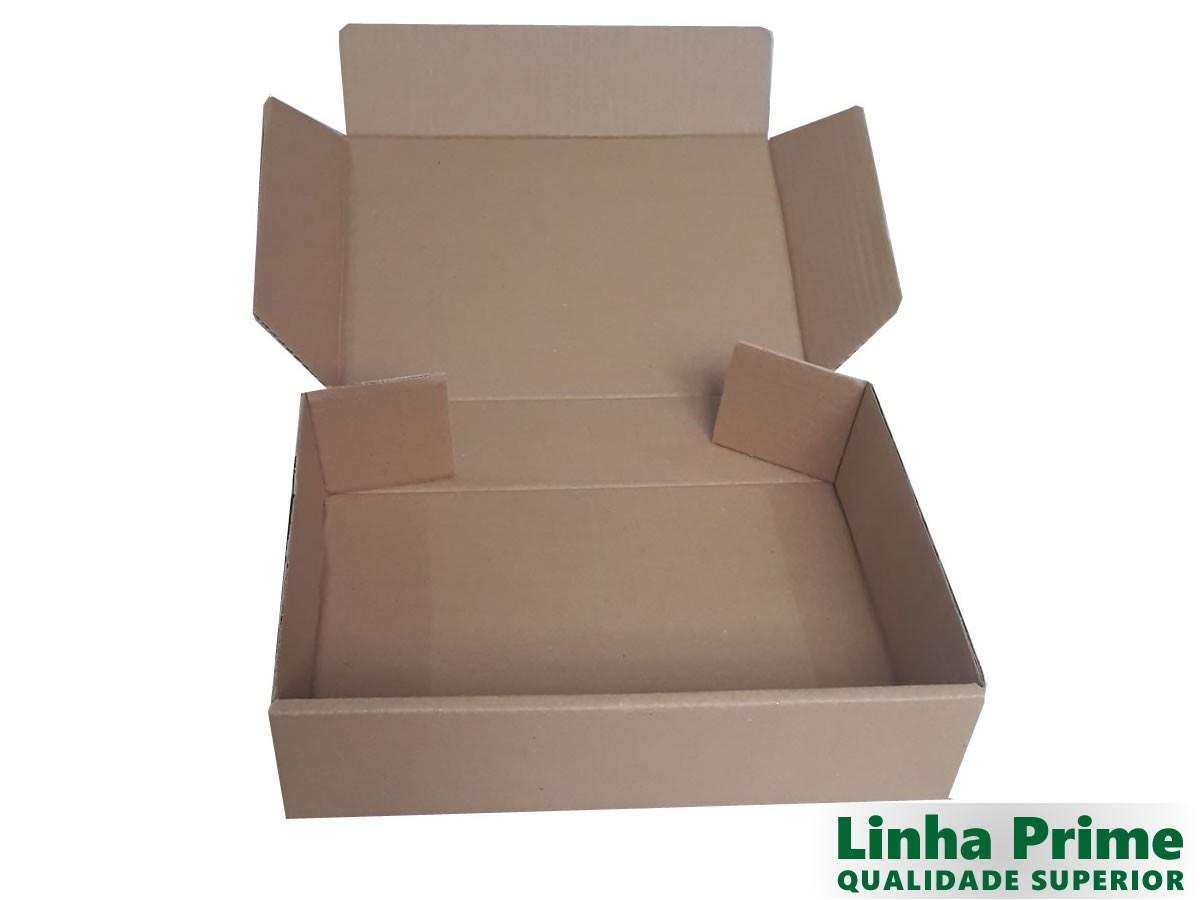 25 Caixas de papelão 28x21x7 cm LINHA PRIME