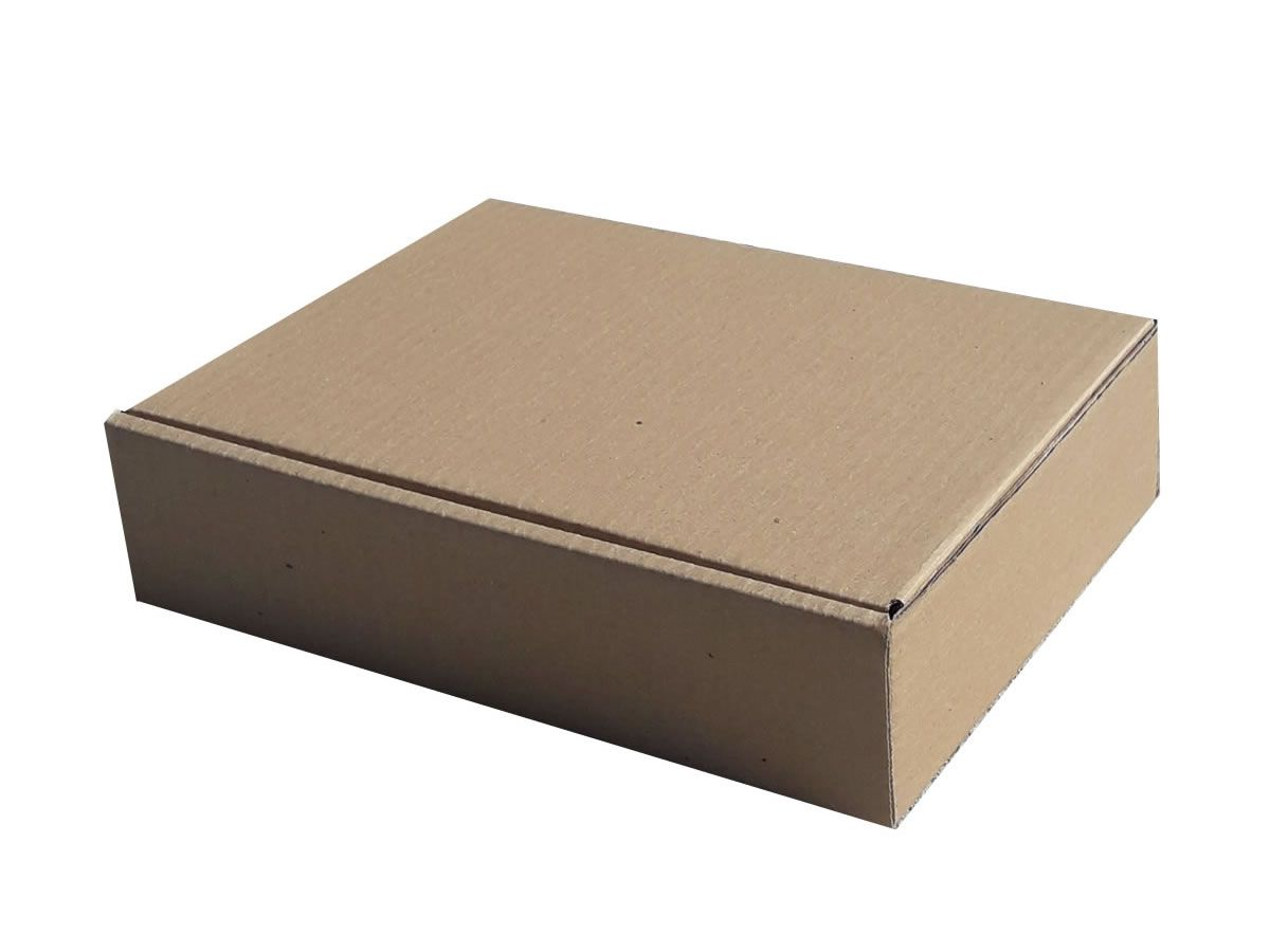 25 Caixas de papelão 28x21x7 cm para correio e transportes