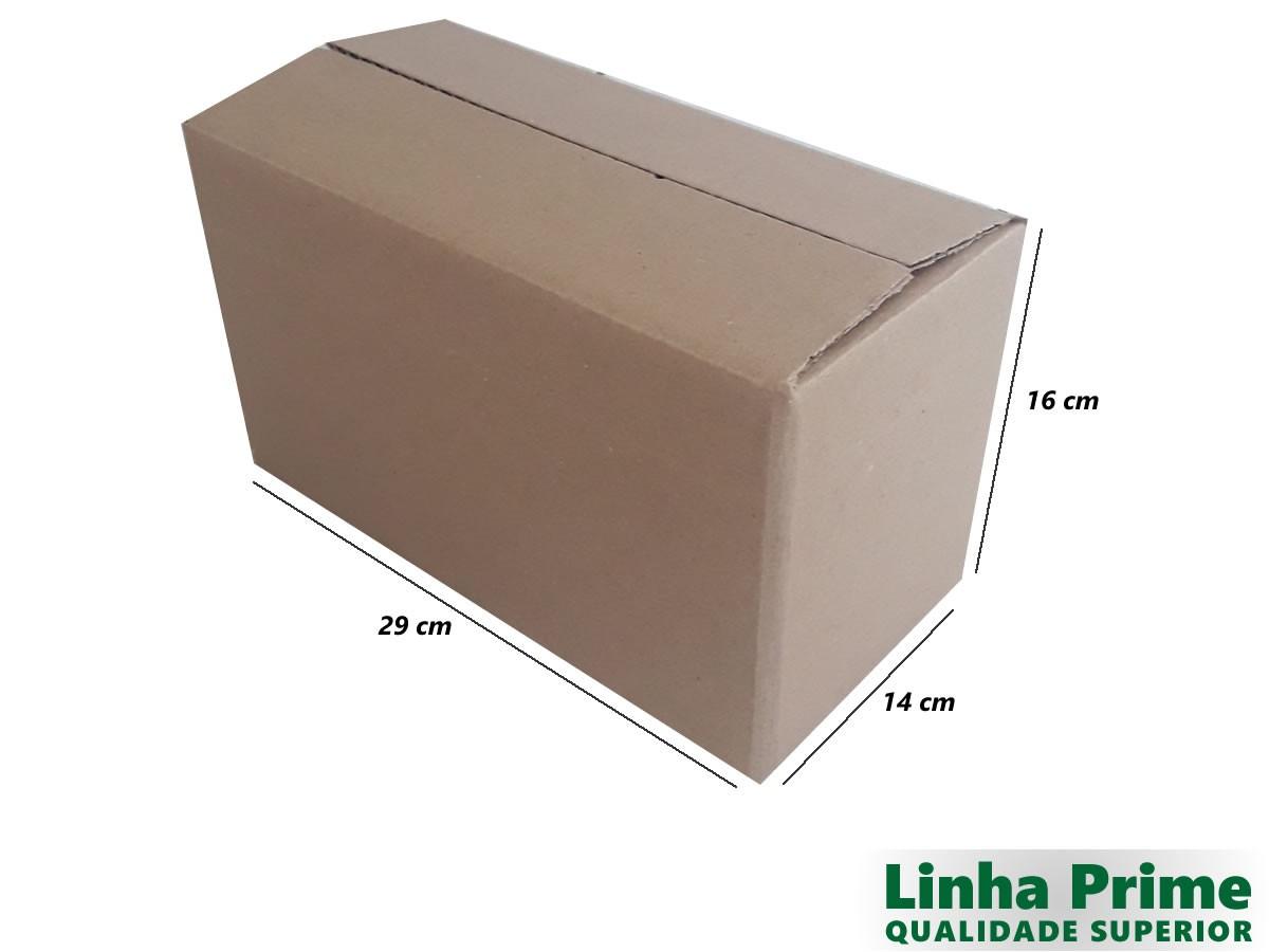 25 Caixas de papelão 29x14x16 cm LINHA PRIME