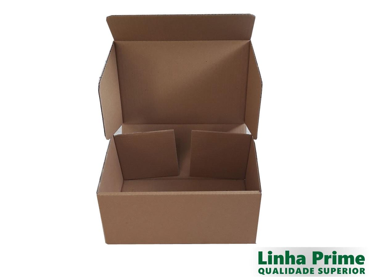 25 caixas de papelão 30x20x13,5 cm LINHA PRIME