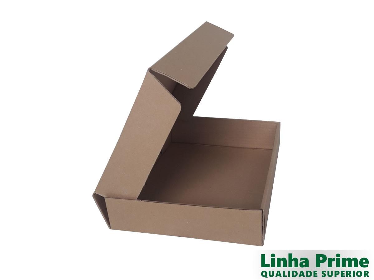 25 Caixas de Papelão 31,5x24x6,5 cm LINHA PRIME