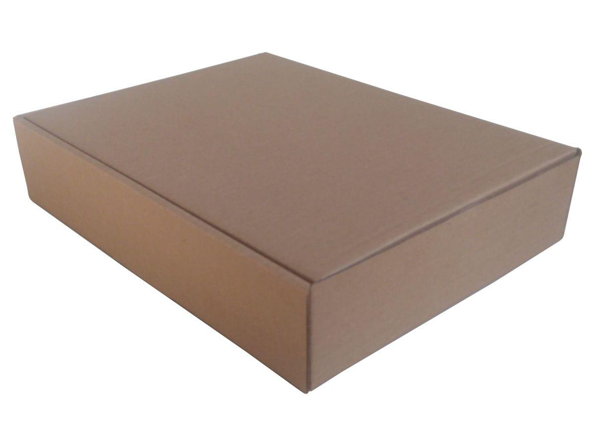 25 Caixas de Papelão 31,5x24x6,5 cm para correio e transportes