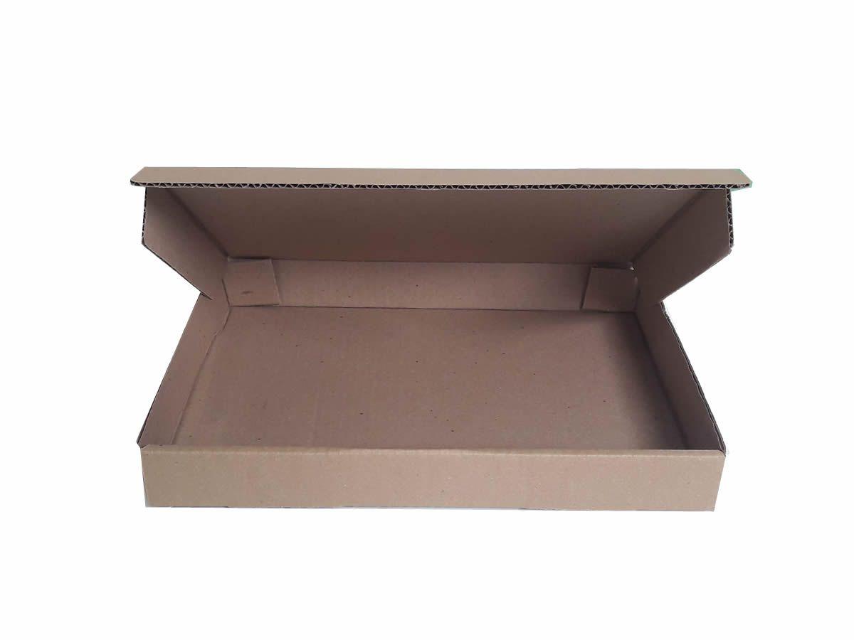 25 Caixas de Papelão 33x24x4 cm para correio e transportes