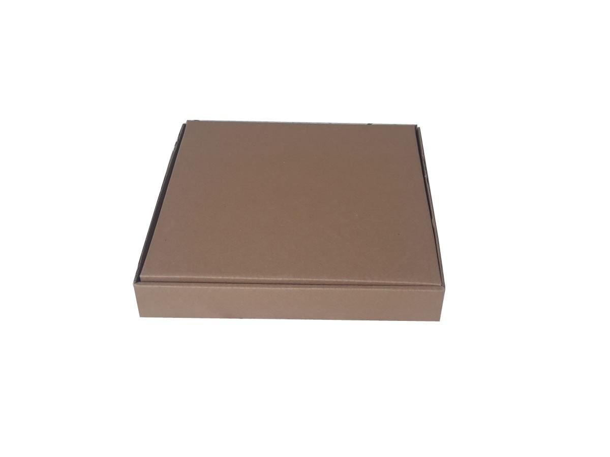 25 Caixas de papelão 33x33x5 cm LINHA PRIME