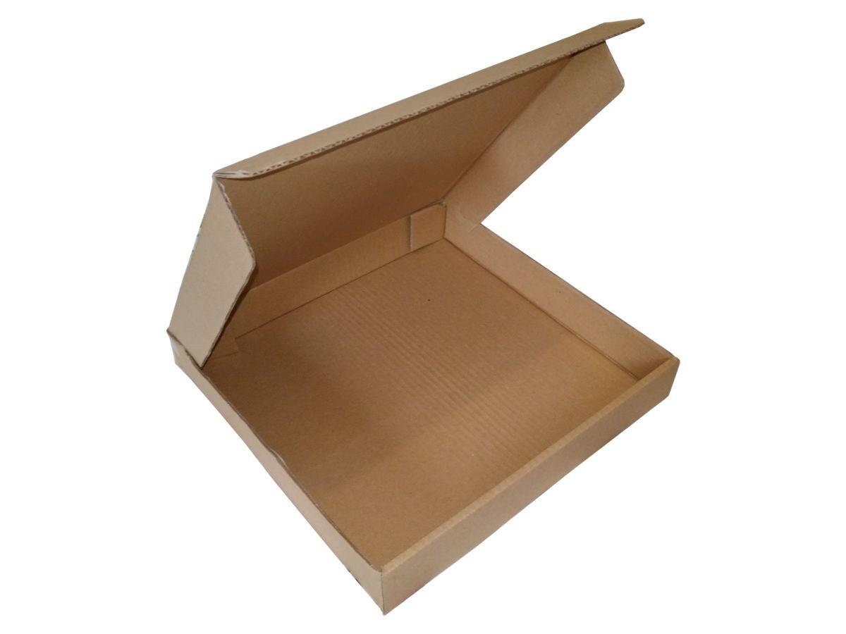 25 Caixas de Papelão 33x33x5 cm para correio e transportes