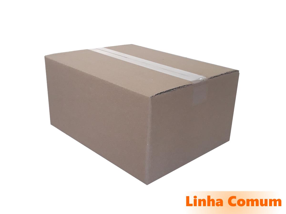 25 Caixas de Papelão 35x28x17 cm LINHA COMUM