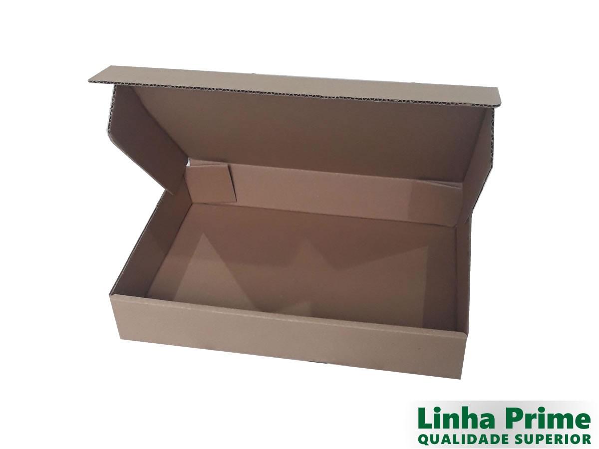 25 Caixas de Papelão 36x26x6 cm LINHA PRIME