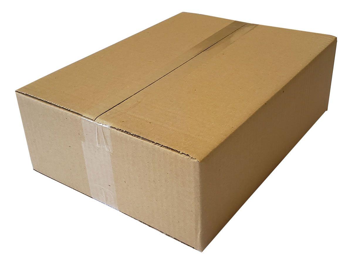 25 Caixas de Papelão 39,5x29,5x12 cm para correio e transportes