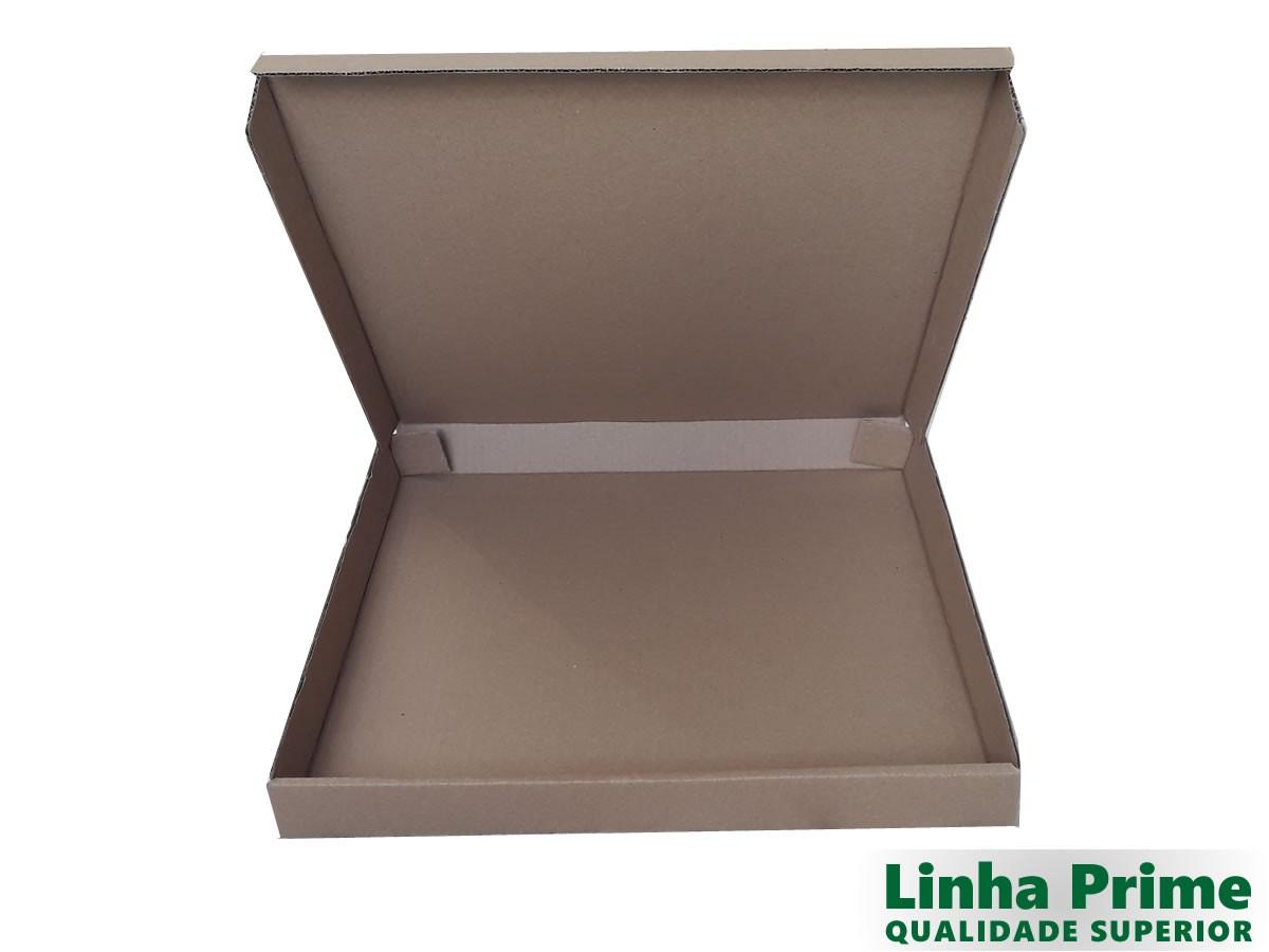 25 Caixas de Papelão 40x40x4 cm LINHA PRIME
