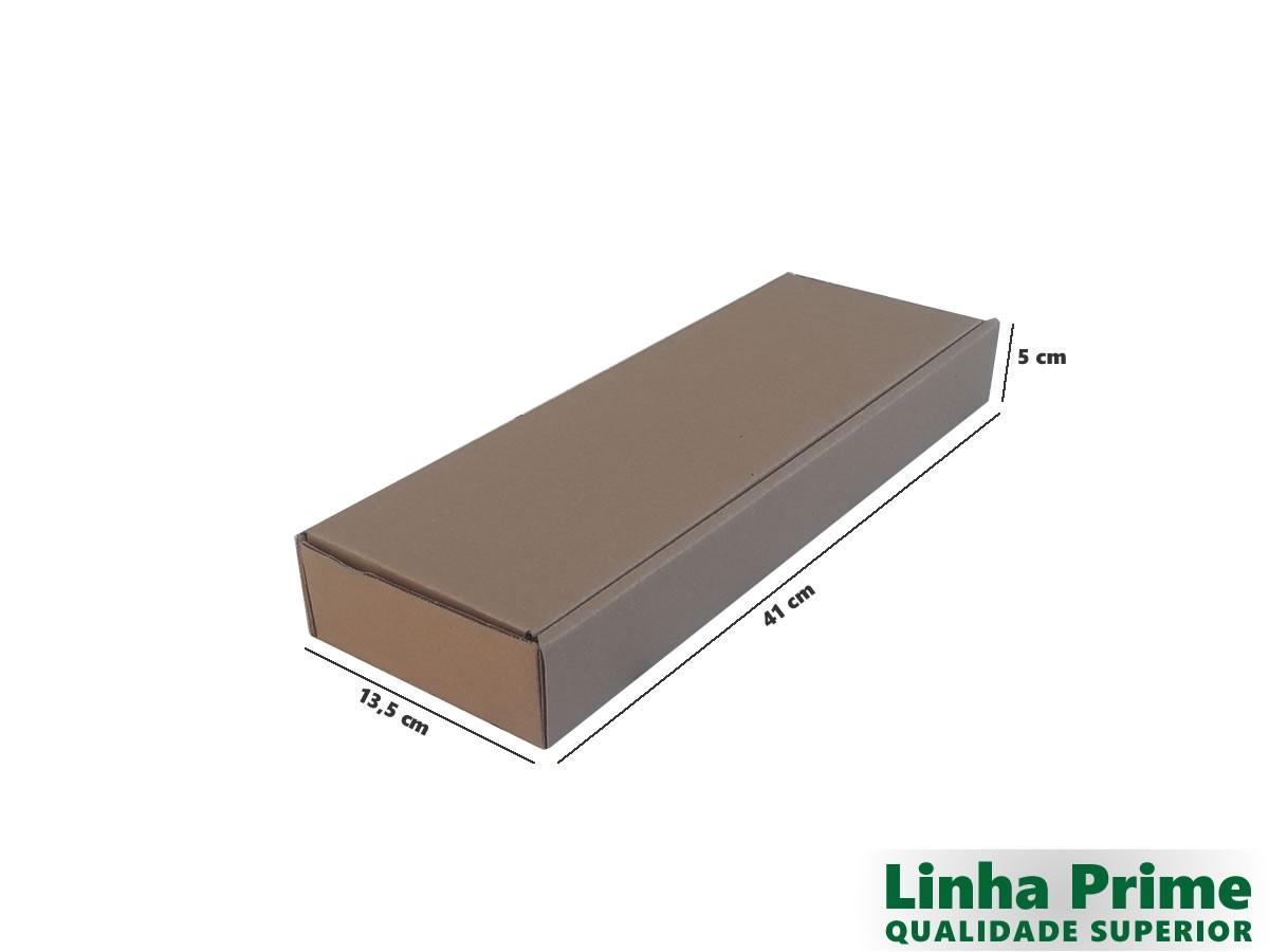 25 Caixas de Papelão 41x13,5x5 cm LINHA PRIME