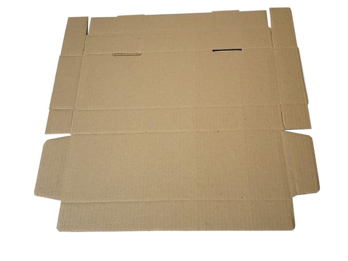 25 Caixas de Papelão 41x13,5x5 cm para correio e transportes