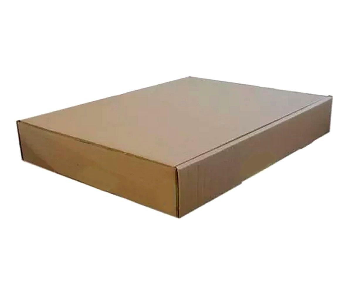 25 Caixas de Papelão 41x31x6 cm para correio e transportes