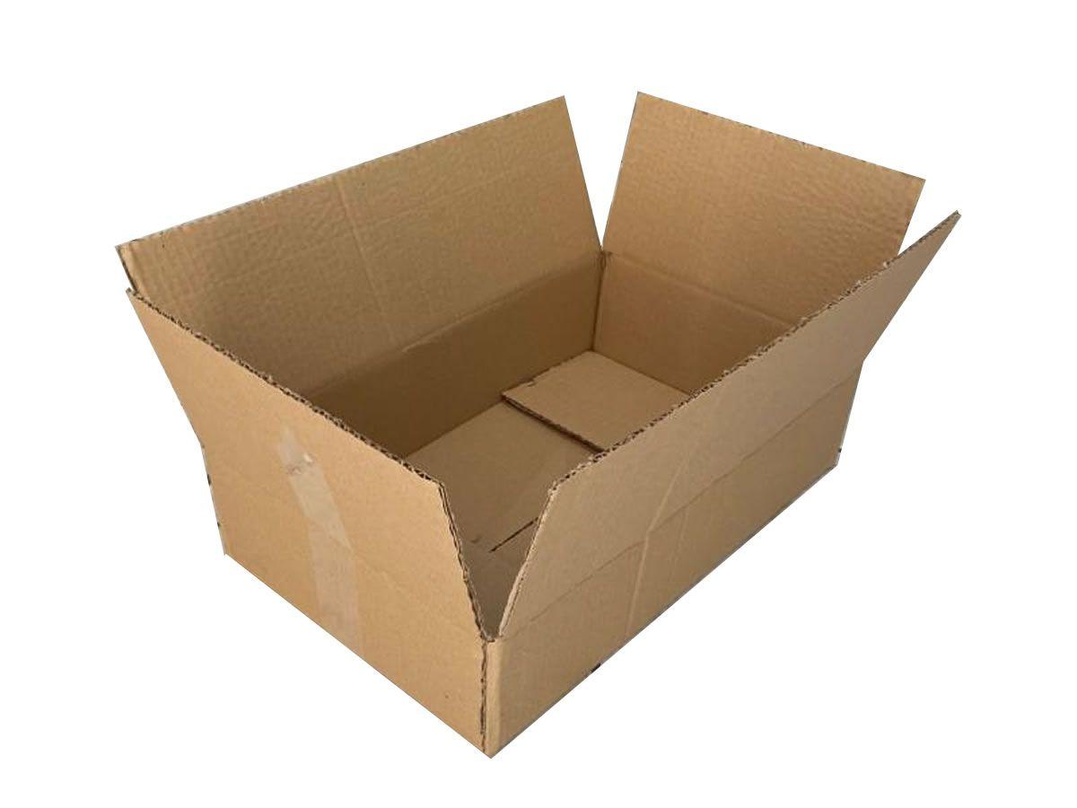 25 Caixas de papelão 44,5x27x10 cm para correio e transportes