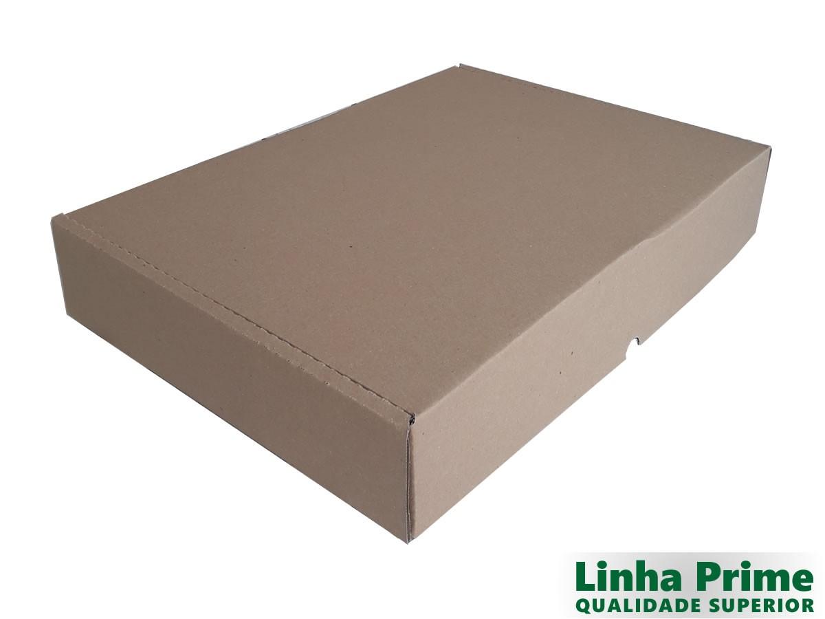 25 Caixas de Papelão 46,5x33,7x8 cm LINHA PRIME