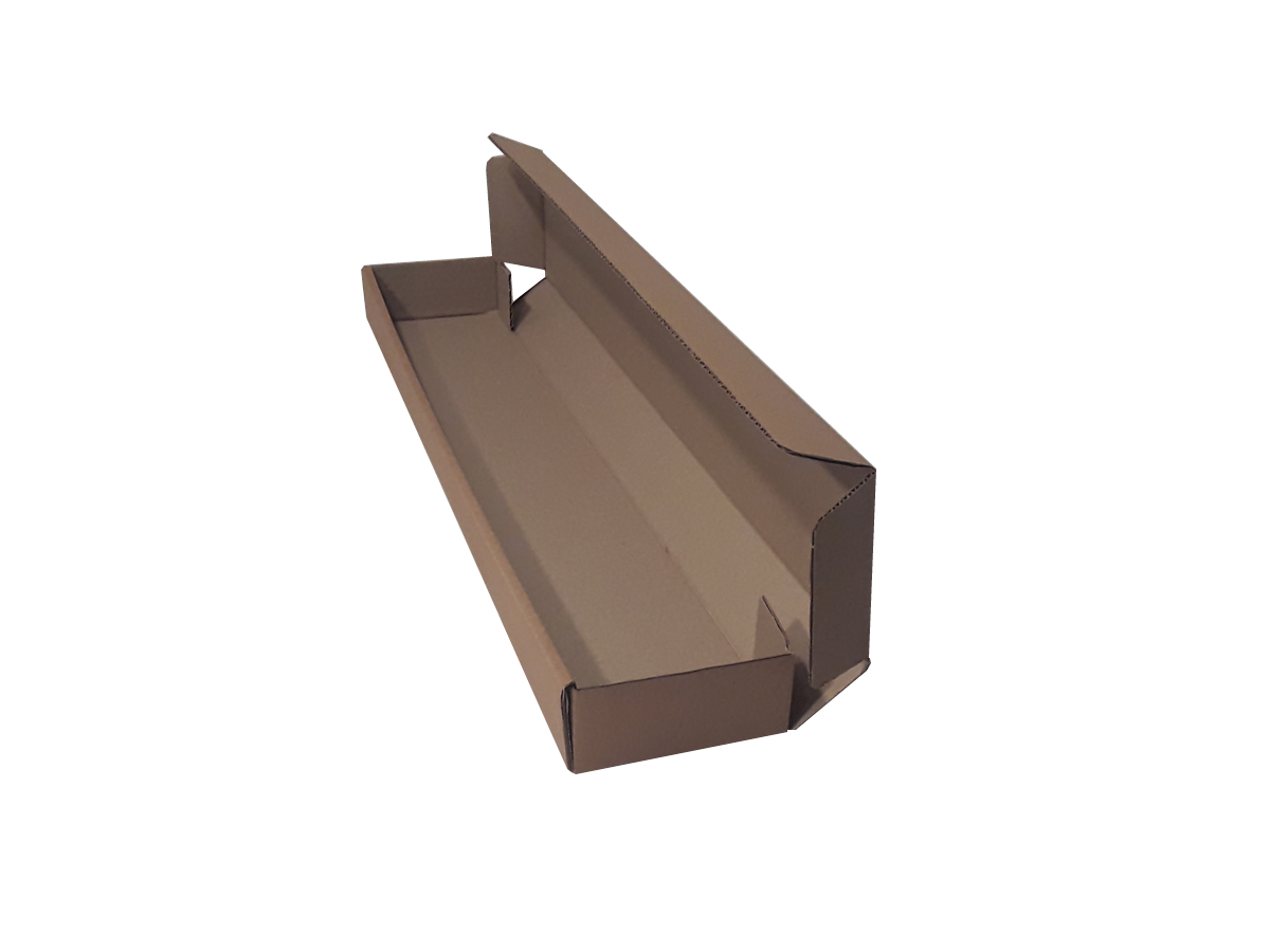 25 Caixas de papelão 65x11x5 cm LINHA COMUM