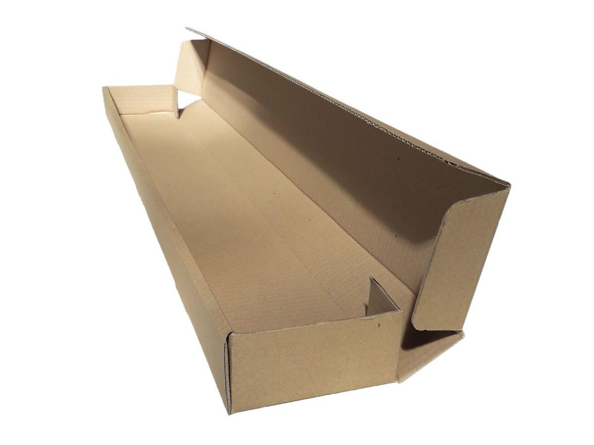 25 Caixas de Papelão 85x11x5 cm PRIME - caixa tubo