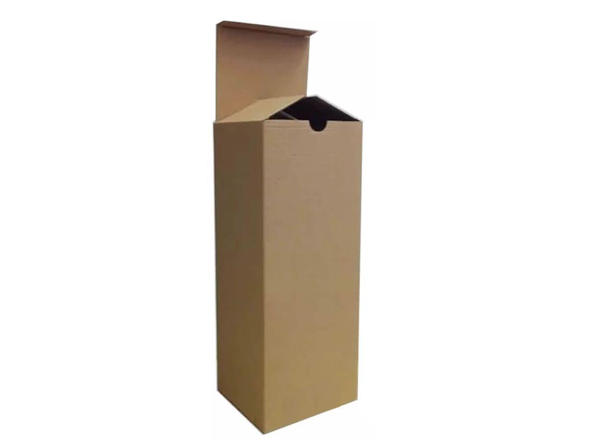 25 Caixas de Papelão 8x8x25 cm - Caixa Tubo