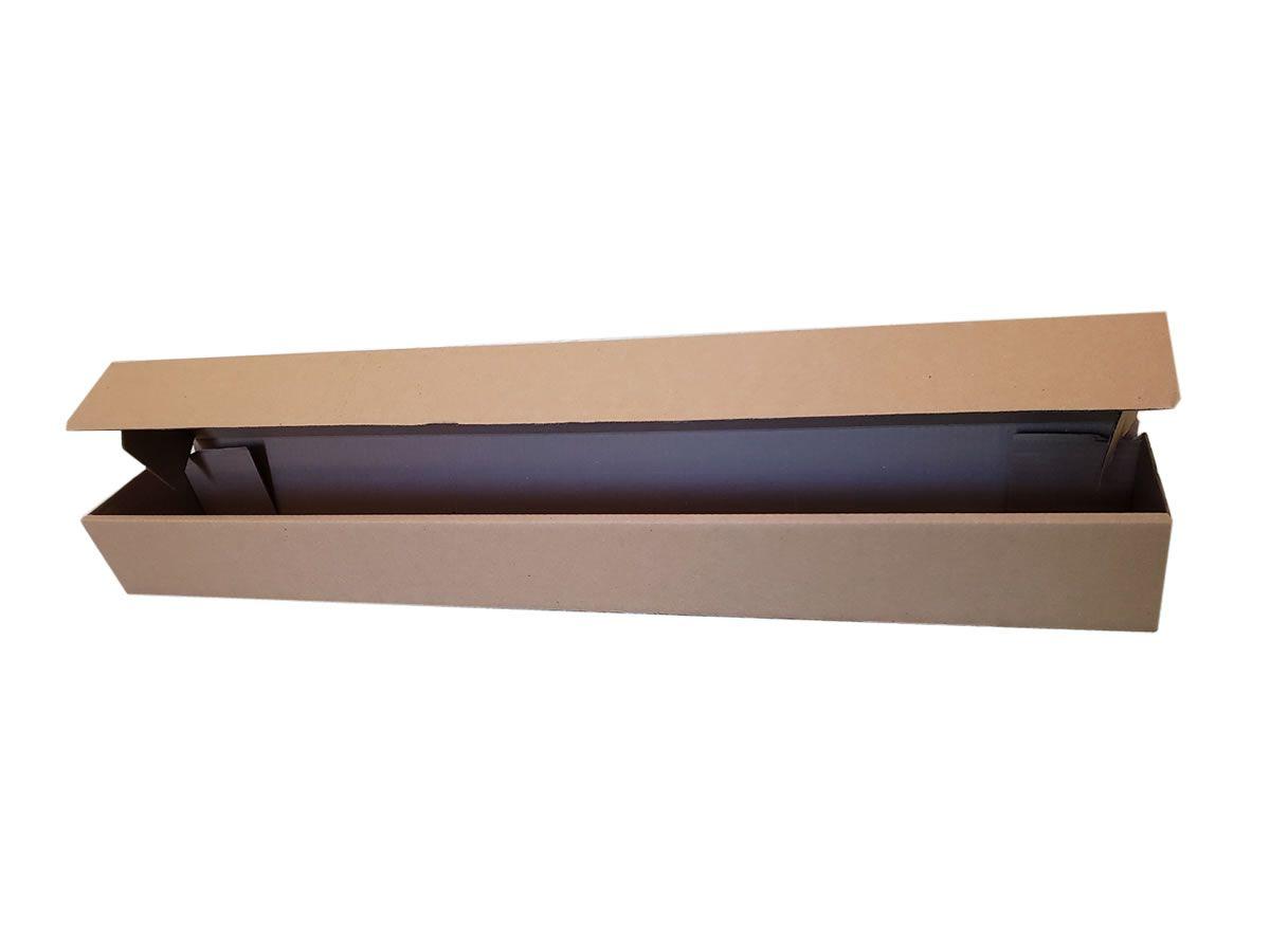 25 Caixas de Papelão 91x12,5x9 cm - Caixa Tubo