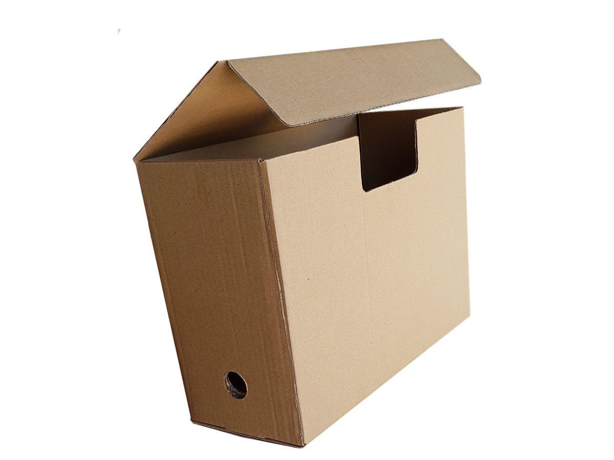 25 caixas de papelão 35x13,5x24,5 cm - Arquivo Morto