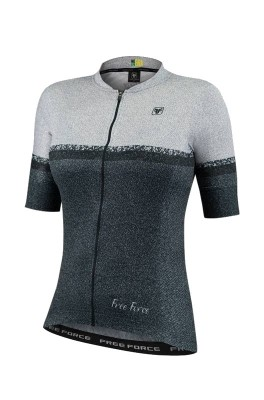 Blusa de Ciclismo Feminina Free Force Sport Grainblack