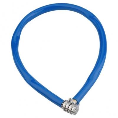Cadeado Kryptonite Keeper 665 Combo com Cabo de Aço e Segredo Azul