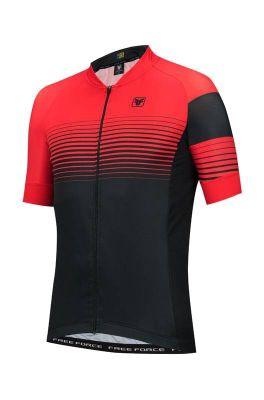 Camisa de Ciclismo Masculina Free Force Reddish