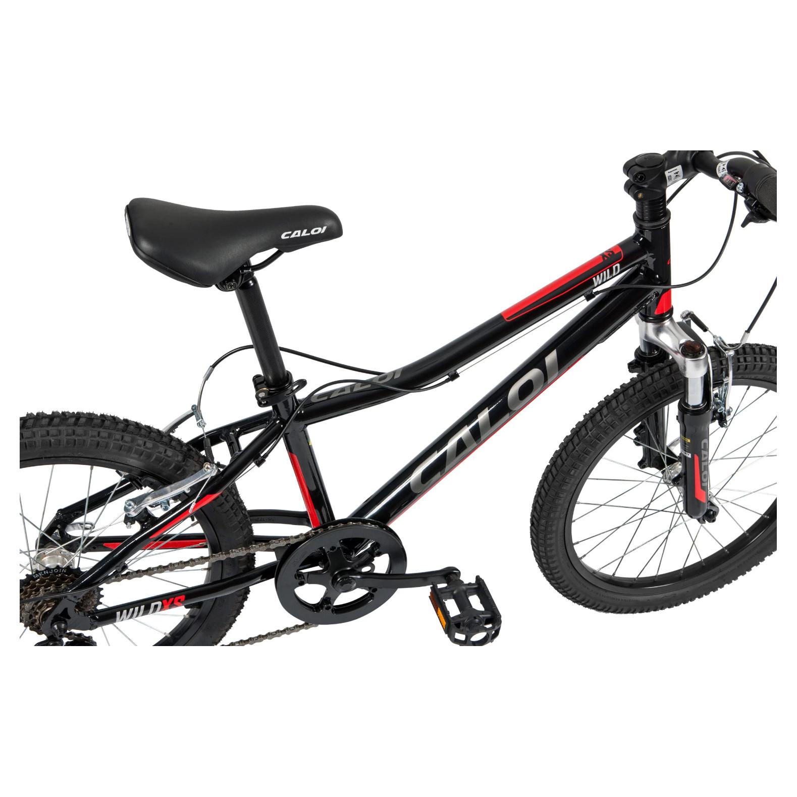 Bicicleta Infantil Caloi Wild XS Aro 20 7v 2021