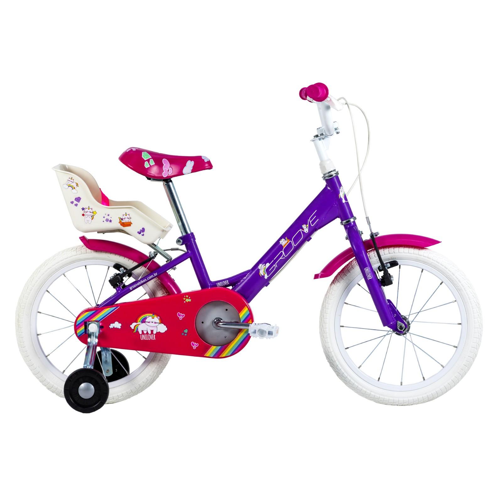 Bicicleta Infantil Groove Unilover Aro 16 2021