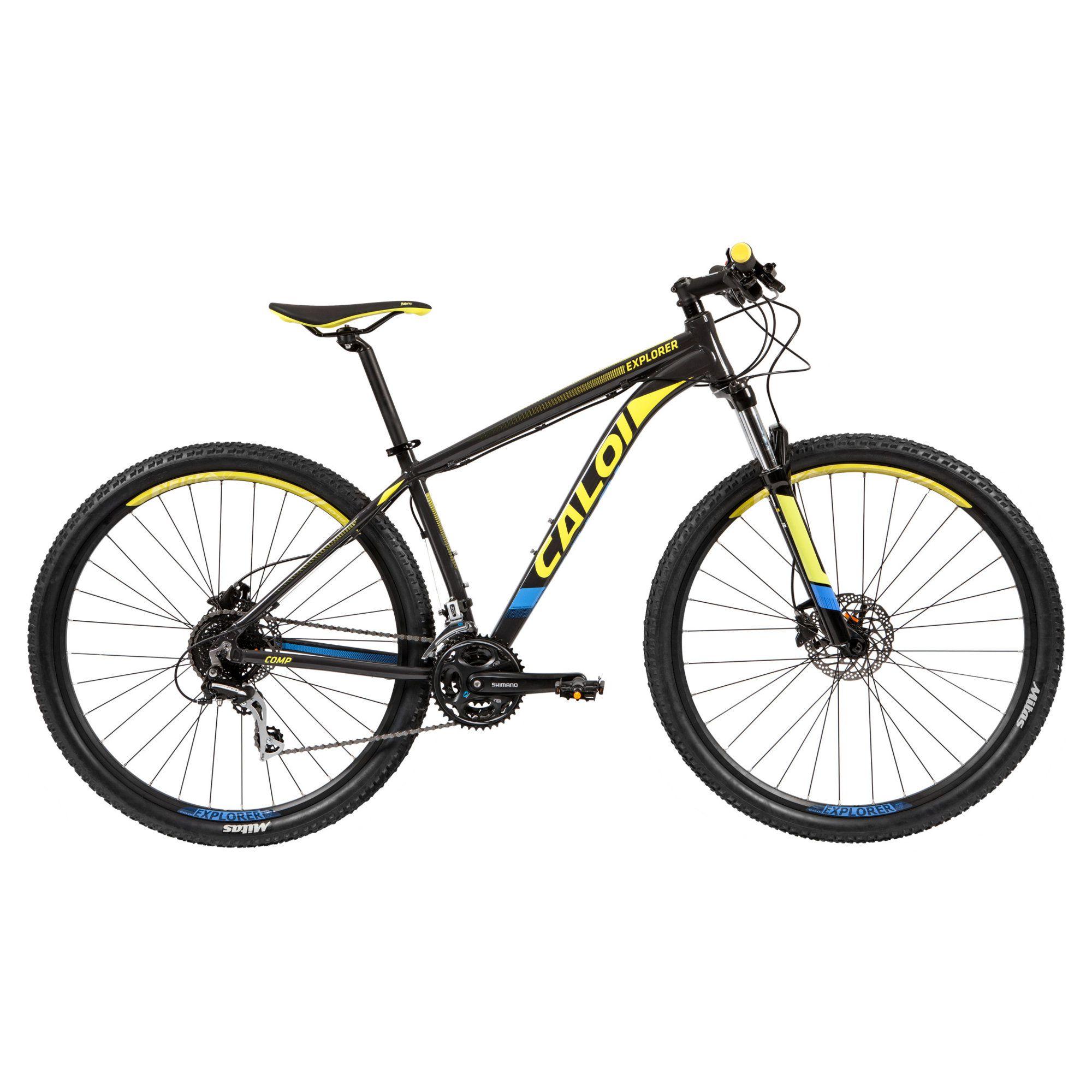 Bicicleta MTB Caloi Explorer Comp 24v 2019