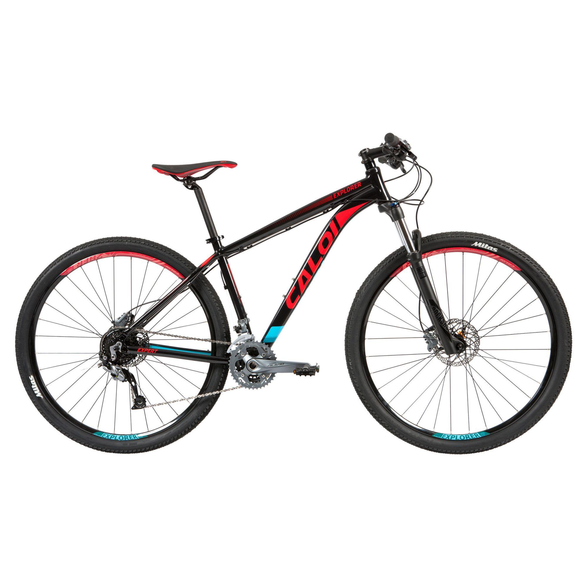 Bicicleta MTB Caloi Explorer Expert 27v 2019