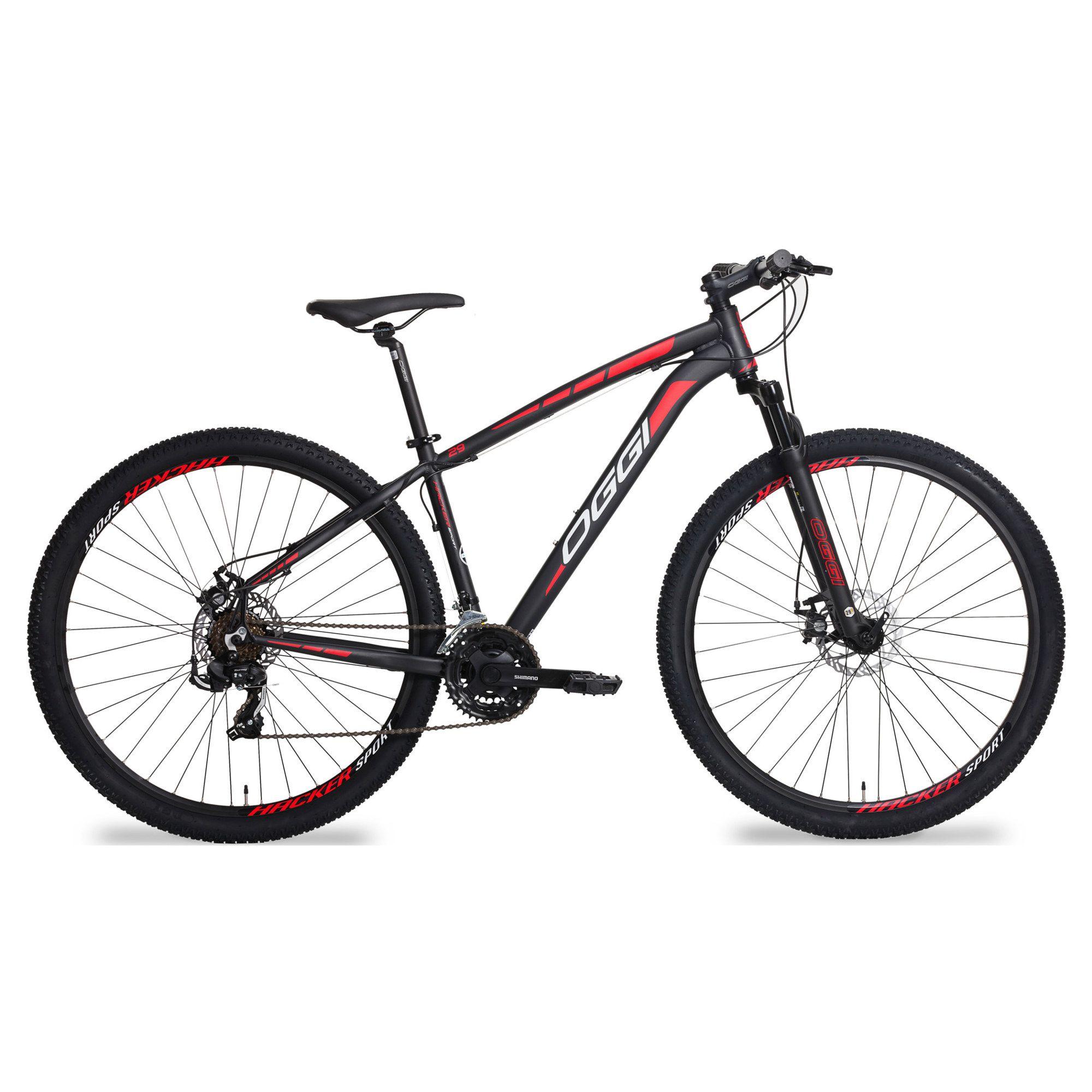 Bicicleta MTB Oggi Hacker Sport 21v
