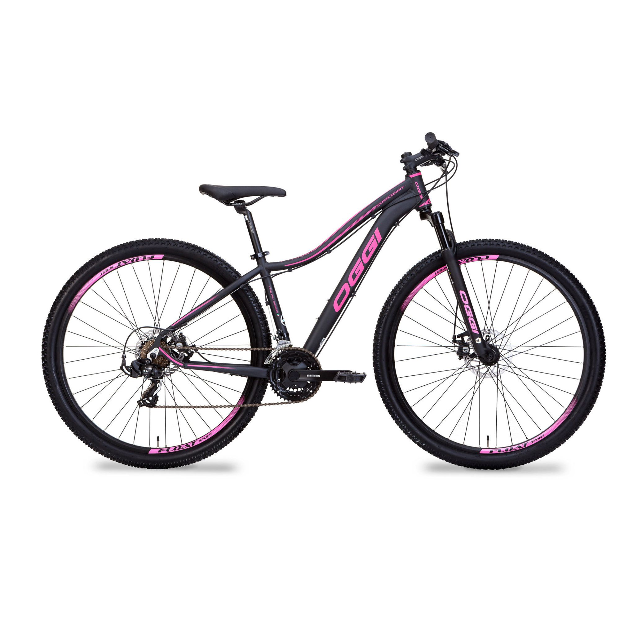 Bicicleta MTB Feminina Oggi Float Sport 21v
