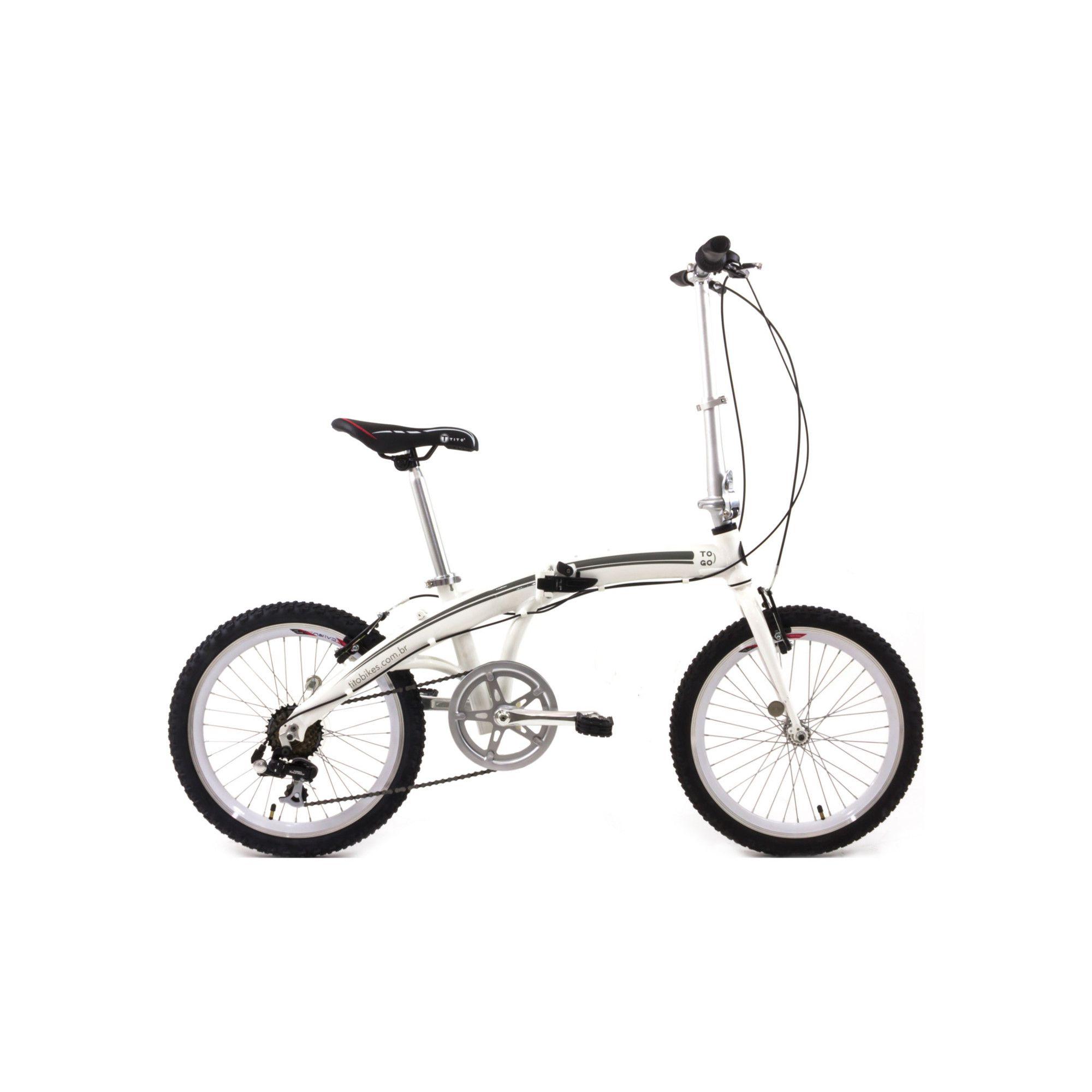 Bicicleta Urbana Dobrável Tito To Go 20