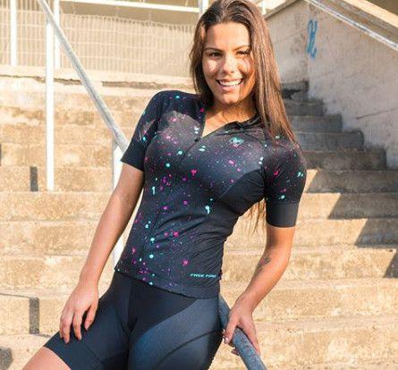 Blusa de Ciclismo Feminina Free Force Sport Holi